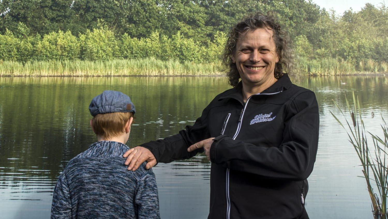 Steven de Jong en Syb van der Ploeg zoeken een kleine Salomon