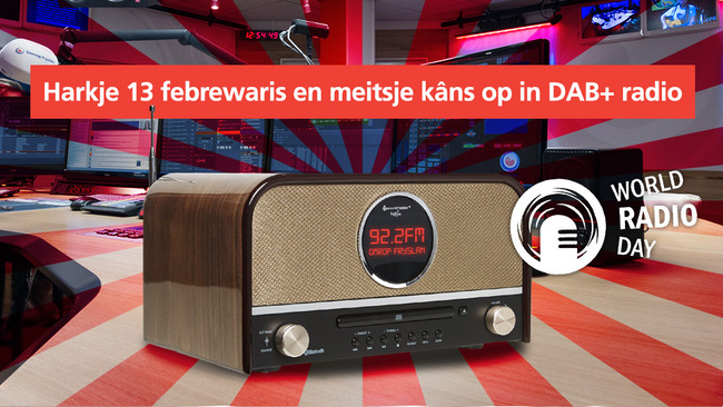 Radio en luisteraars in het zonnetje bij Omrop Fryslân